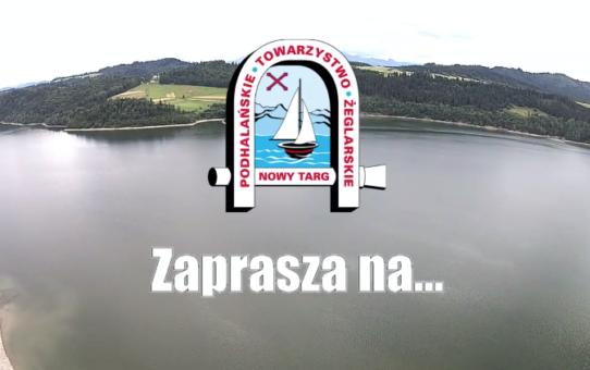 Film promocyjny PTŻ kursy żeglarskie na Jeziorze Czorsztyńskim
