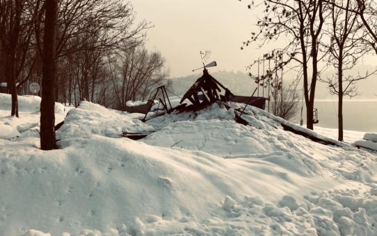 Zima piękna i niszczycielska